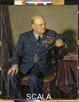 Chandor, Douglas (1897-1953) Portrait of Sir Winston Spencer Churchill, 1946