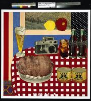 Wesselmann, Tom (1931-2004) Still Life #12. 1962. Acrylic and collage of fabric, photogravure, metal, etc. on fiberboard, 48 x 48 in.