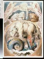 Blake, William (1757-1827) Illustrations of the Book of Job RA 2001.77: Behemoth and Leviathan