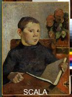 Gauguin, Paul (1848-1903) Portrait of Clovis (the artist's son), ca. 1886. Oil on canvas, 22 1/4' x 16'. Collection of The Newark Museum, Git of Mrs. L.B. Wescott, 1960. Inv.: 60.570.