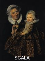 Hals, Frans (c. 1580-1666) Portrait of Catharina Hooft with Her Nurse, c. 1619-1620