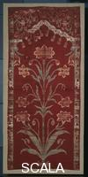******** Part of a wall cover. Northern India, Moghul period, 2nd quarter 17th CE.