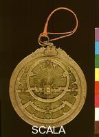 ******** Arab astrolabe, from Toledo, Spain, 1029 CE - recto