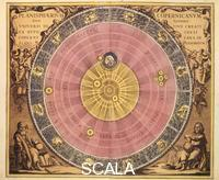 ******** The planispheres according to Copernicus. From 'Harmonia Macrocosmica,' pl. 4, by Andreas Cellarius, Amsterdam, 1708