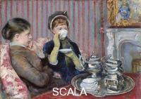 Cassatt, Mary (1844-1926) The Tea (Le Thé)