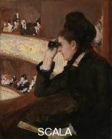 Cassatt, Mary (1844-1926) In the Loge