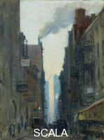 Lawson, Ernest (1873-1939) New York Street Scene