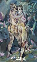 Kokoschka, Oskar (1886-1980) Two Nudes (Lovers)