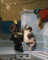 Gerome, Jean Leon (1824-1904) Moorish Bath, 1870