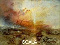 Turner, Joseph Mallord William (1775-1851) Slave Ship (Slavers Throwing Overboard the Dead and Dying, Typhoon Coming On)