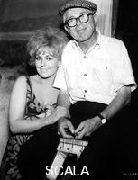 ******** Billy Wilder (1906-2002), the American Producer with Kim Novak (1933- ), American actress, 1964.