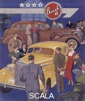 ******** Poster advertising Buick cars, 1936.
