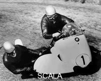 ******** BMW Motorbike and sidecar combination, 1958