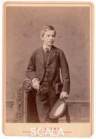 ******** Crown Prince Rudolph of Austria, only son of Emperor Francis Joseph I and Elisabeth. Photograp by Josef Albert, Munich, c. 1873.