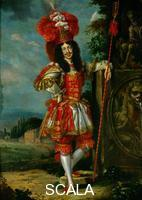 Thomas, Jan (1617-1678) Emperor Leopold I (1640-1705) in a theatrical costume, probably during a shepherds play, 'La Galatea', performed in honour of the arrival of the Emperor's bride, the Infanta Margarita Teresa