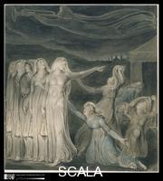 Blake, William (1757-1827) The Parable of the Wise and Foolish Virgins, c. 1799-1800