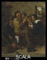 Brouwer, Adriaen (1605-1638) The Smokers, probably c. 1636