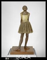 Degas, Edgar (1834-1917) The Little Fourteen-Year-Old Dancer, 19th-20th century (executed c. 1880; cast in 1922)