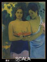 Gauguin, Paul (1848-1903) Two Tahitian Women, 1899
