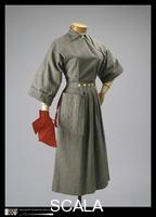 McCardell, Claire (1905-1958) Dress, 1942. (Manufacturer: Townley Frocks, American, founded c. 1948)
