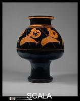 Oltos (fl. 525-500 b.C.) Terracotta psykter (vase for cooling wine), Psykter, c. 520-510 B.C.