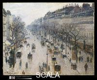 Pissarro, Camille (1830-1903) The Boulevard Montmartre on a Winter Morning, 1897