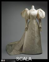 ******** Wedding Dress, 1896. design House: House of Worth (French, 1858-1956)