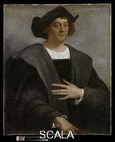 Sebastiano del Piombo (c. 1485-1547) Portrait of a Man, Said to be Christopher Columbus (c. 1446-1506), 1519