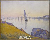 Signac, Paul (1863-1935) Evening Calm, Concarneau, Opus 220 (Allegro Maestoso), 1891