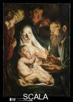 Jordaens, Jacob (1593-1678) The Holy Family with Shepherds, 1616