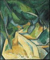 Braque, Georges (1882-1963) Road near L'Estaque, 1908