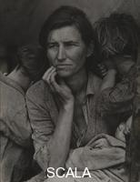 Lange, Dorothea (1895-1965) Migrant Mother, Nipomo, California, 1936