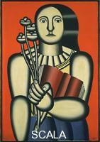 Leger, Fernand (1881-1955) Woman with a Book, 1923