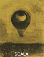 Redon, Odilon (1840-1916) Eye-Balloon, 1878