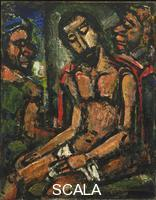 Rouault, Georges (1871-1958) Christ Mocked by Soldiers, 1932