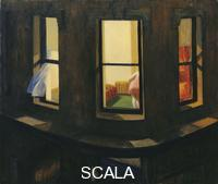 Hopper, Edward (1882-1967) Night Windows. (1928)