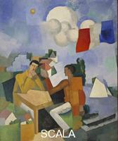 La Fresnaye, Roger de (1885-1925) The Conquest of the Air, 1913
