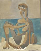 Picasso, Pablo (1881-1973) Seated Bather (Paris, early 1930)
