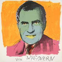 Warhol, Andy (1928-1987) Vote McGovern, 1972