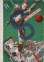 Klucis, Gustav (1895-1944) Postcard for the All Union Spartakiada Sporting Event, 1928