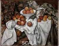 Cezanne, Paul (1839-1906) Still Life with Apples and Oranges