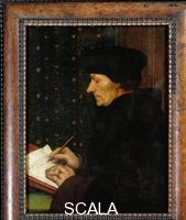 Holbein, Hans the Younger (1497-1543) Portrait of Erasmus of Rotterdam Writing
