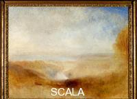 Turner, Joseph Mallord William (1775-1851) Landscape with River and Bay in the Background